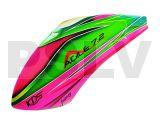 FUC-AGL-002  Fusuno Peaches Airbrush Fiberglass canopy KDS Agile 7.2