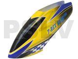 FUC-TX6001EPro - FUSUNO BLUE RACING Airbrush Fiberglass canopy Trex 600E Pro