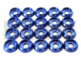 LX0238 Lynx Heli Innovations Frame C Washer M3 Blue 20pcs