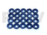 LX0209 - Frame C Washer M2,5 - Blue - 20pcs