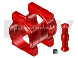 LX0675  Lynx Heli Innovations Logo 600 Tail Case Hub Red  ,logo 700 ,mikado logo 800,