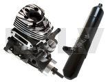850100CB   Gaui T-10 Engine Set (10cc)  T-10 Muffler combo
