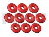 LX0419  Lynx Heli Innovations NANO CPX Silicon O-Ring Red 10pcs
