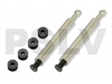 212300 Canopy Posts and Damper Rubbers Pack for canopy GAUI X2