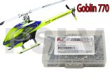 GOB002   Goblin 770 Heli Stainless Steel Screw Kit