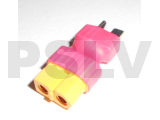 PS1003 -Female XT60 to Male T-Connector