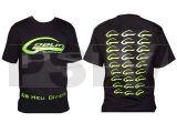 HM018-M  SAB HELI DIVISION Black T-Shirt Size M